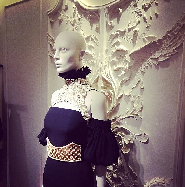 The new Alexander McQueen store is just as stunning as the designs.
