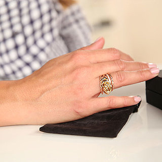 Rachel Zoe Gold Knot Ring | Video