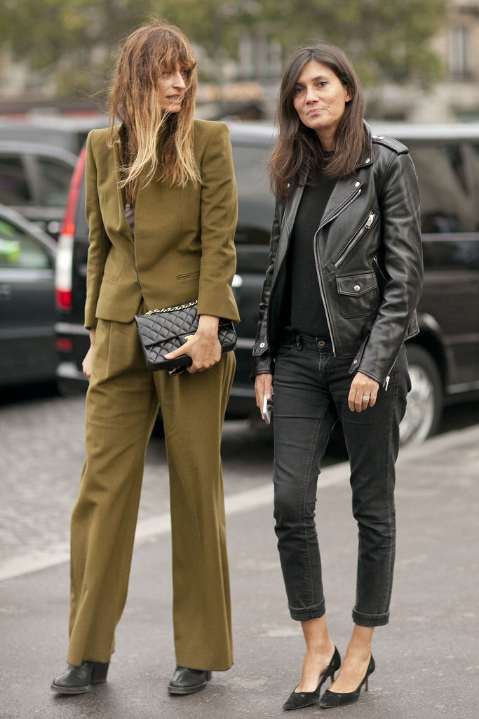 Parisian chic from Emmanuelle Alt.