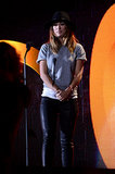 Olivia Wilde spoke at the Global Citizen Festival in NYC.