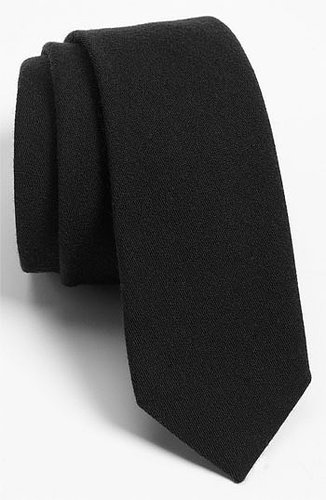 The Tie Bar Woven Wool Blend Tie