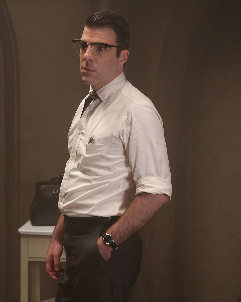 Dr. Oliver Thredson  What to wear: Black or gray slacks, a fresh white shirt, and a short doctor's coat with a tie and thick-rimmed, retro glasses. How to act: Like you have a secret to hide. Talk about the custom lampshade you just made.
