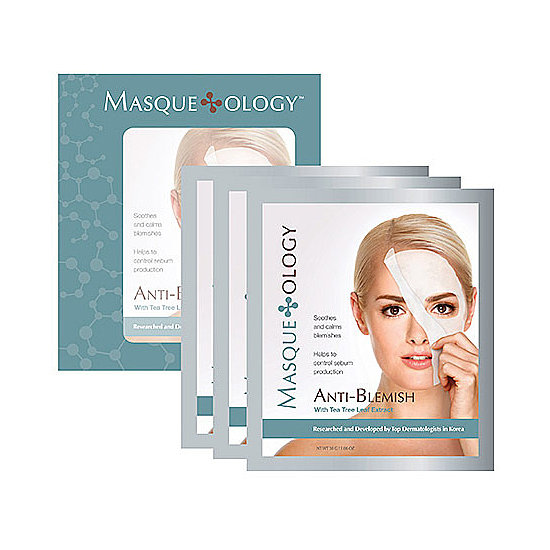 Best for: Breakouts and blemishes Soothe your inflamed skin with the Masqueology Anti-Blemish Masque With Tea Tree Leaf Extract ($24). Tea tree is known for its medicinal properties that kill bacteria and calm skin ailments.