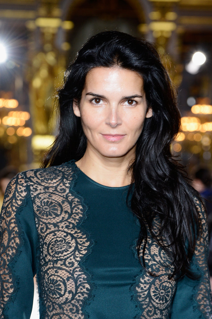 Angie Harmon at Stella McCartney Spring 2014.