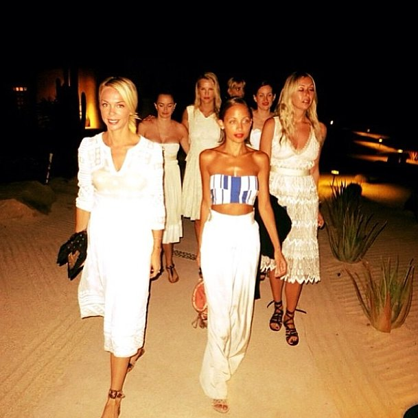 Nicole Richie stepped out with her army of equally fabulous friends. Source: Instagram user nicolerichie
