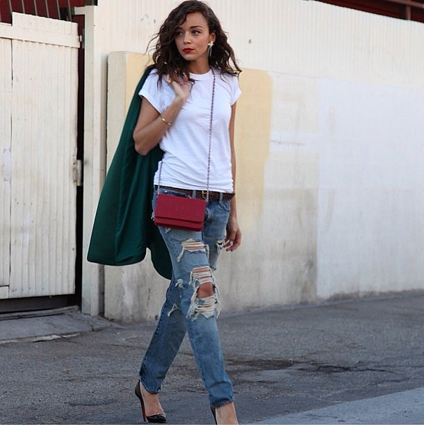 Does it get any better than Ashley Madekwe's street style? Source: Instagram user smashleybell