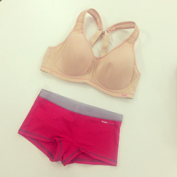 Cute and comfy workout underwear by Freya Active. Source: Instagram user popsugarau