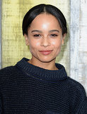 Zoë Kravitz at Chanel Spring 2014.