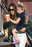 Sarah Jessica Parker Takes Her Little Animals to School