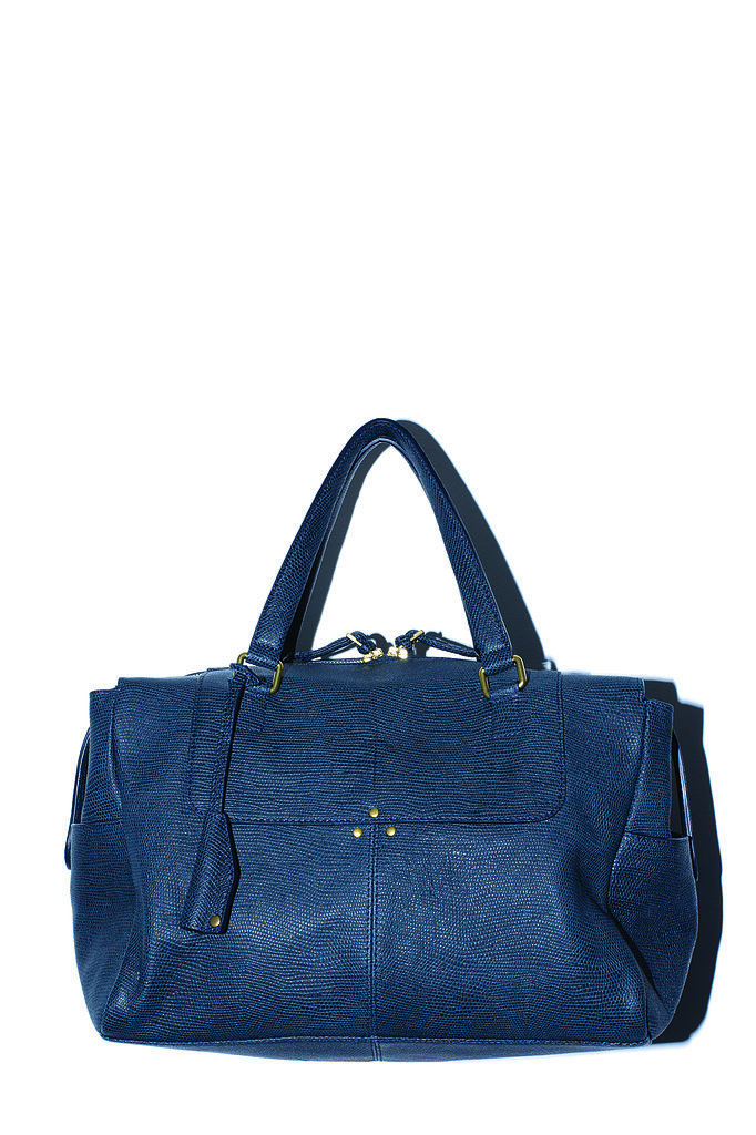 The Georges Bag in navy calfskin Photo courtesy of Jerome Dreyfuss