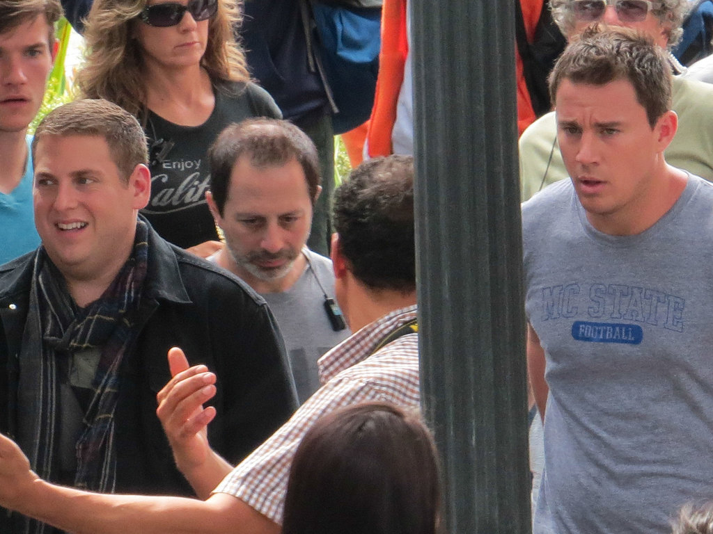 Jonah Hill and Channing Tatum shot scenes for 22 Jump Street.