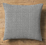 Think of this Chevron Tapestry Weave Pillow ($48, originally $79) as a muted (and more affordable!) spinoff of the Missoni versions.