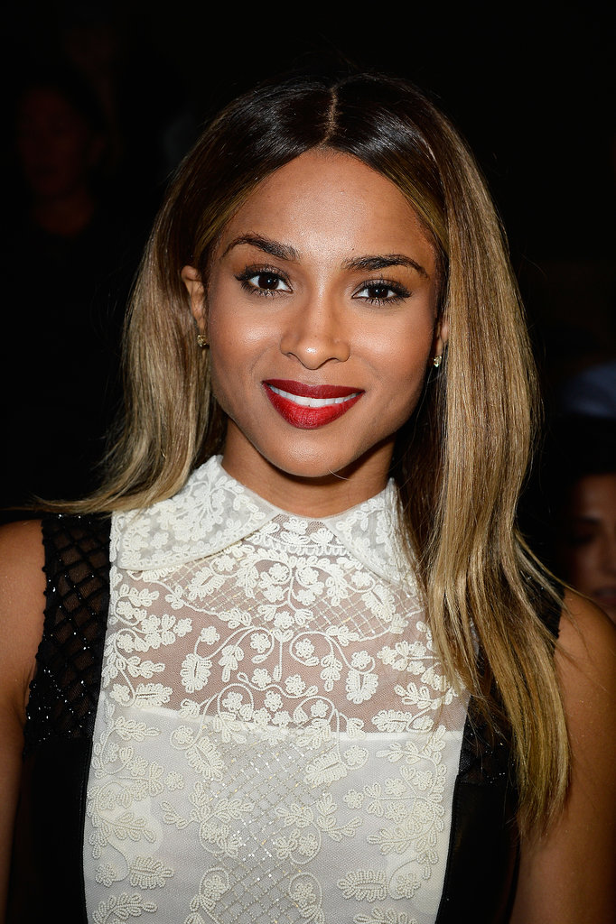 Ciara at Valentino Spring 2014