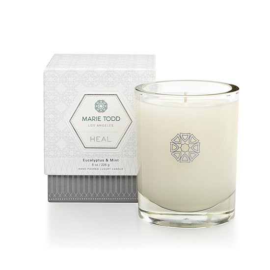 Gifting season is almost upon us, so why not purchase the Marie Todd Heal Candle ($54) for a friend? It's a double-duty present since 30 percent of sales will go to the Breast Cancer Research Foundation.