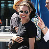 Angelina Jolie Wearing a New Ring in Australia
