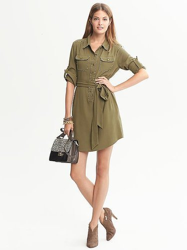 Heritage Piped Shirtdress