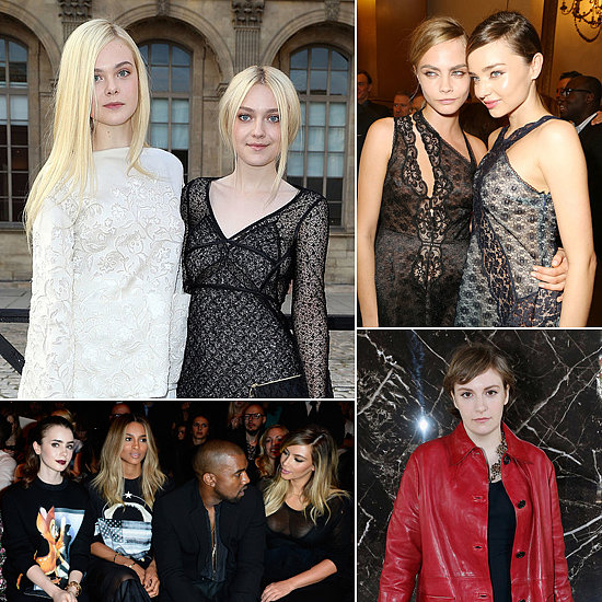 Bonjour! See All the Stars at Paris Fashion Week