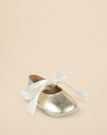 Ralph Lauren Infant Briley Metallic Ballet Flats