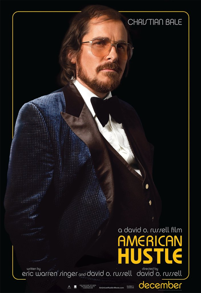 Christian Bale in American Hustle.