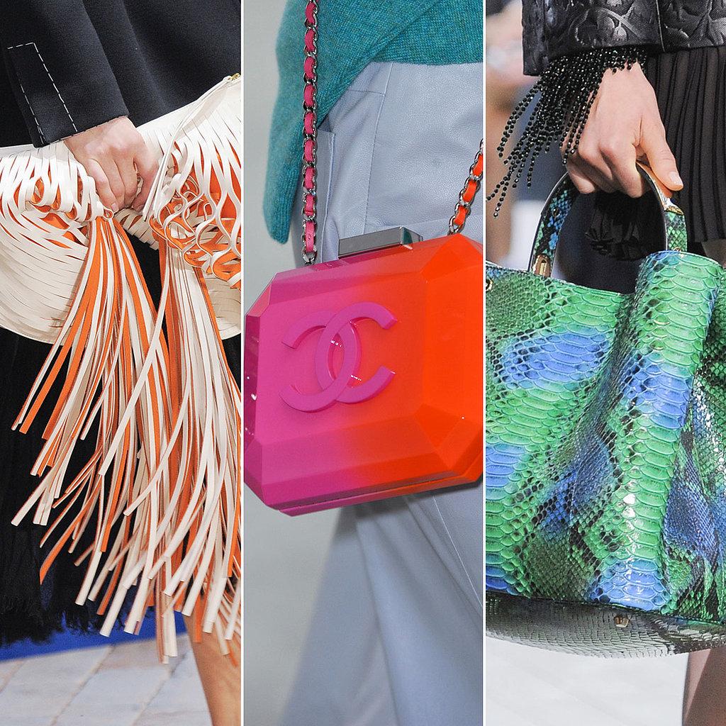 Best Bags At Paris Fashion Week Spring 2014 Popsugar Fashion