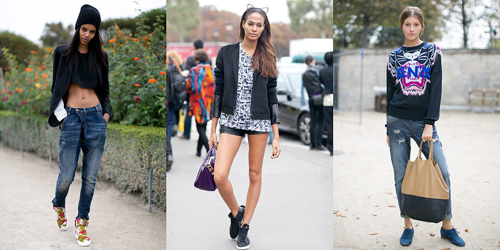 From Catwalk to Sidewalk: The Best Model Street Style at PFW