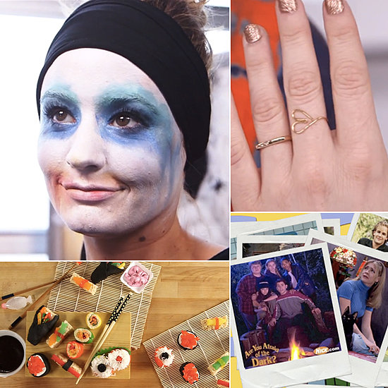 Candy Sushi, a '90s Flashback, and a Lady Gaga Halloween: The Best of POPSUGARTV This Week