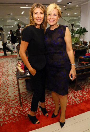 Nina Garcia joined Nancy Berger Cardone for Marie Claire&#