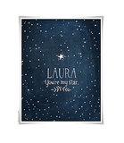 You're My Star Personalized Print