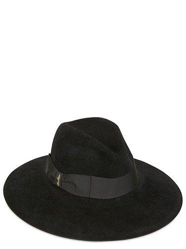Velour Lapin Felt Hat