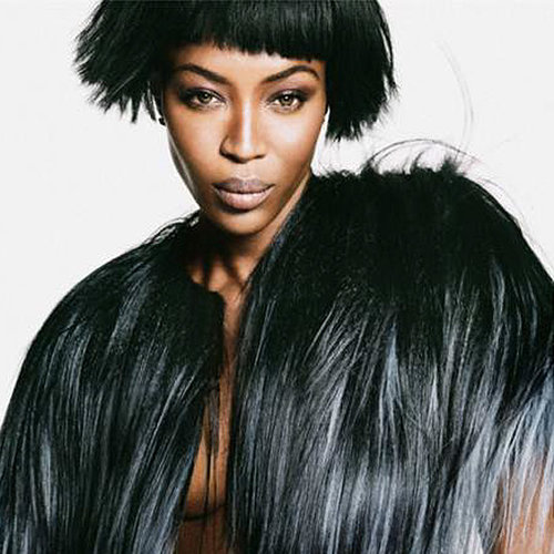 Naomi Campbell Pictures For Net-a-Porter