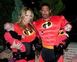 In 2001, Mariah Carey and Nick Cannon dressed the family up as the cast of The Incredibles.