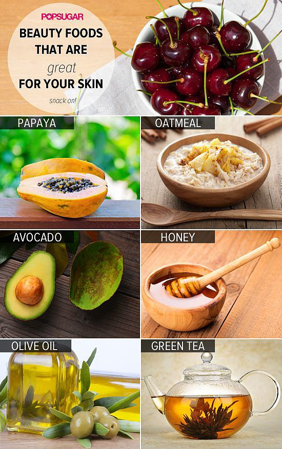 Just looking at this pin makes us hungry for these foods for beautiful skin. It enticed our followers' appetites, too.