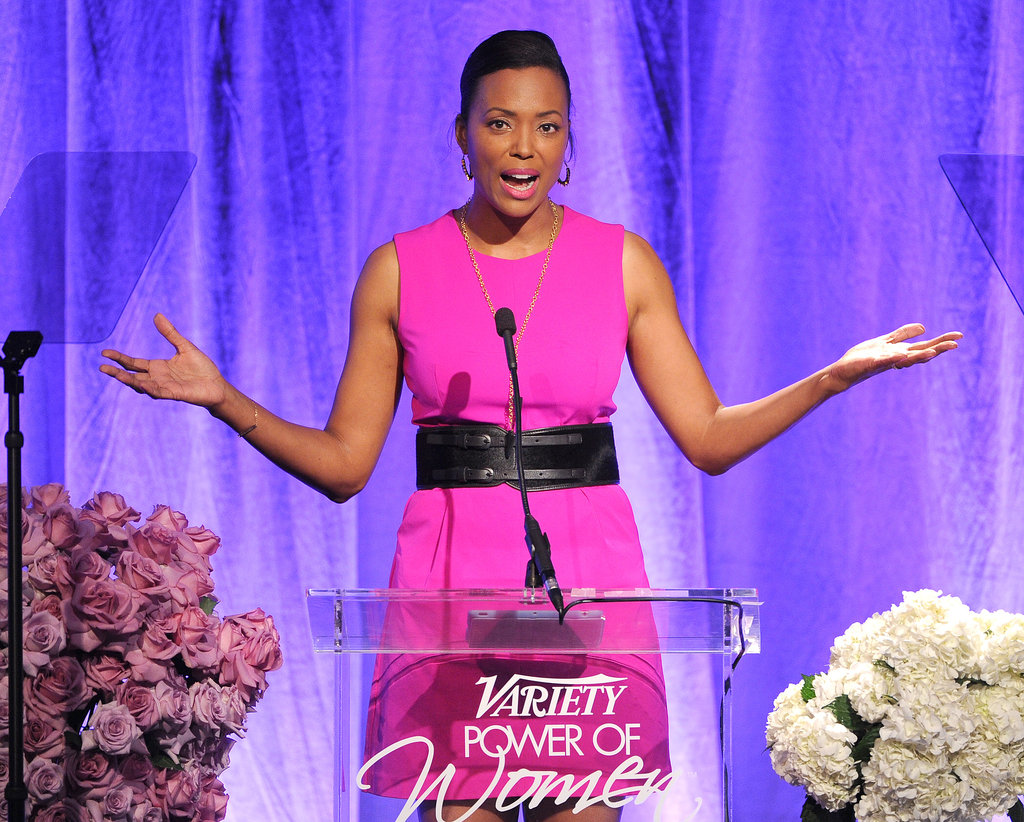 Aisha Tyler hosted the event, which was sponsored by Audi, Lifetime, and Movado, among others.