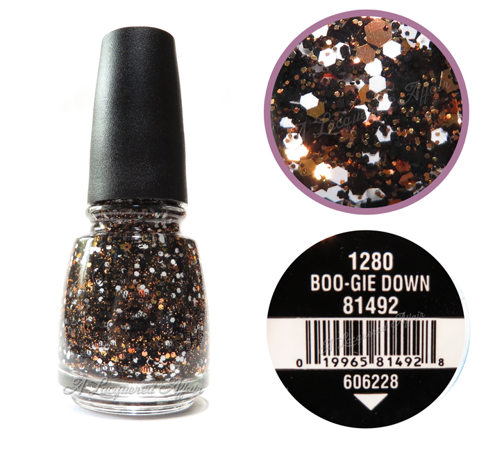 China Glaze Boo-gie Down, bottle shot