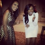 Kerry Washington and Jennifer Hudson shared a laugh with Variety. Source: Instagram user iamjhud