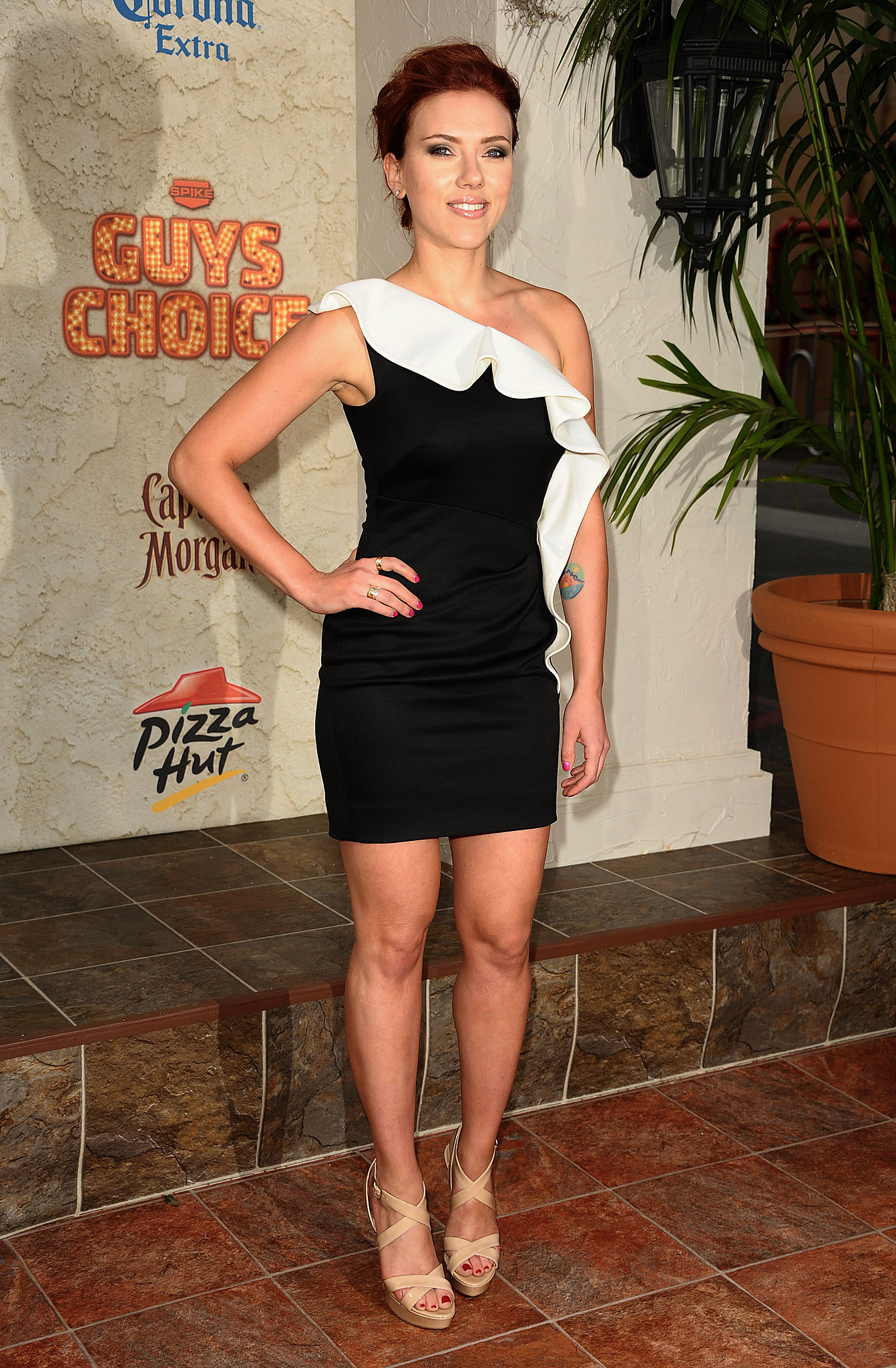 Scarlett Johansson at Spike TV's Guys Choice Awards, 2011 ...