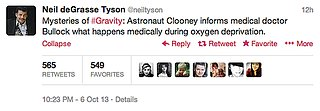 Neil deGrasse Tyson on Gravity