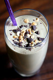 Sweet: Chocolate Banana Cashew Smoothie