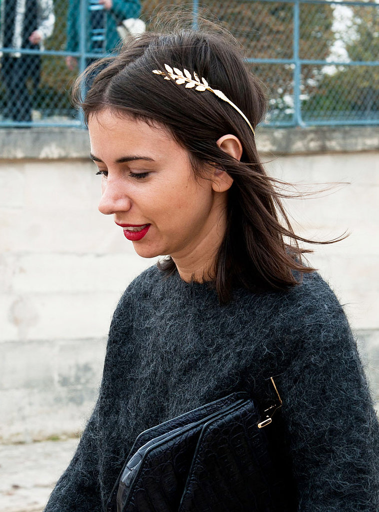 Finding a statement-making hair accessory elevates any look.
