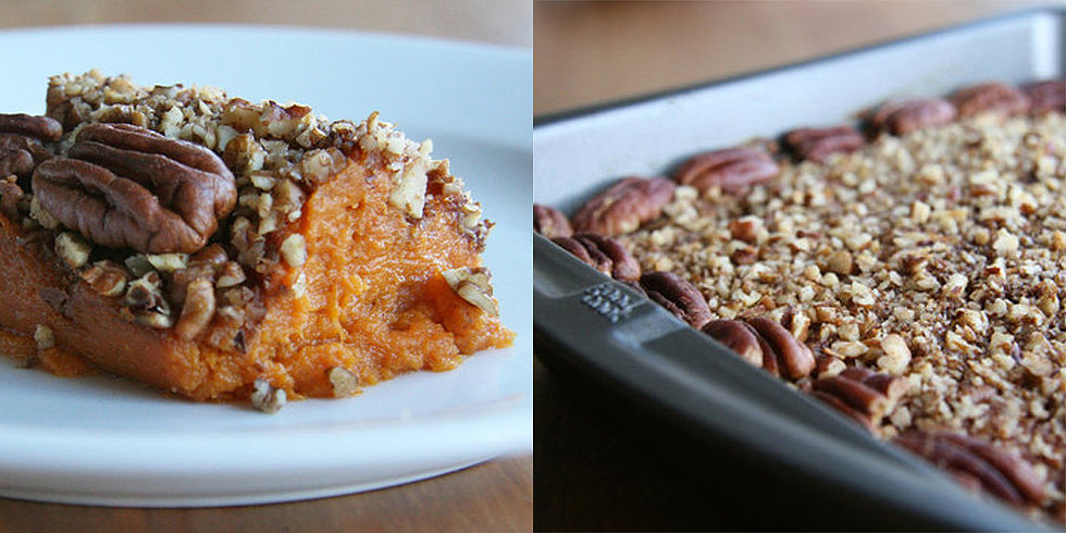 Your Healthy Thanksgiving: Sweet Potato-Pecan Casserole