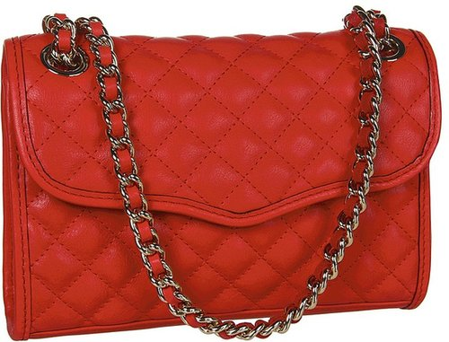 Rebecca Minkoff - Diamond Quilt Mini Affair (Bronze) - Bags and Luggage