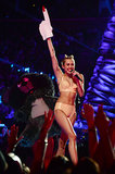 VMAs Miley: The Foam Finger Edition