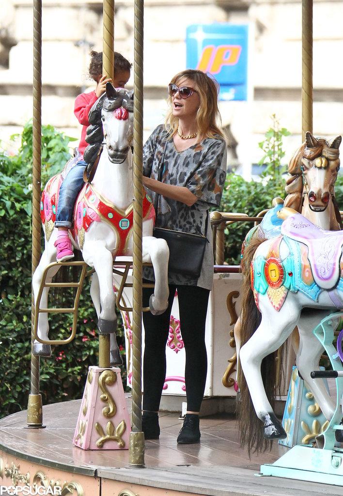When in Rome, Do as Ellen Pompeo and Alicia Keys Do