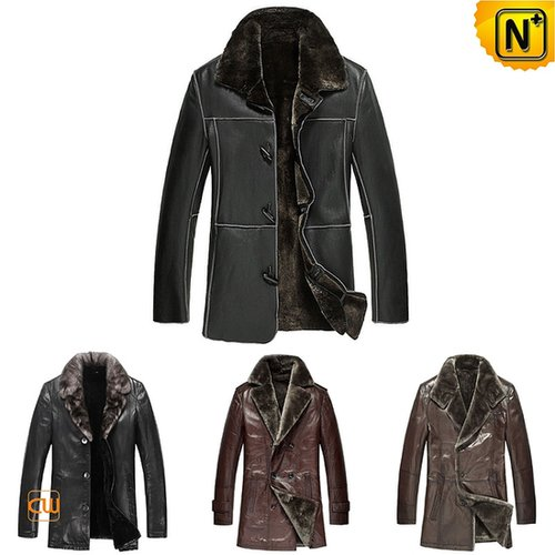 Mens Shearling Coat CW141471