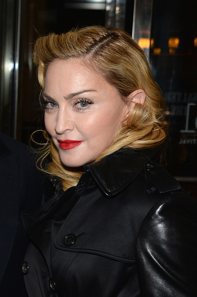 Madonna pulled off a pinup style at the premieres of All is Lost, 12 Years a Slave, and Nebraska.