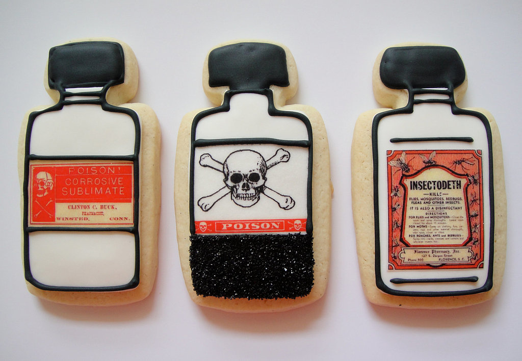 Potion Bottle Cookies