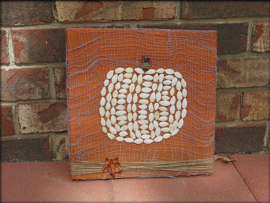 Pumpkin Seed Painting