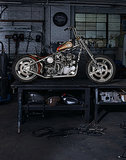 "Indian Larry's ""Wild Child"" Motorcycle"