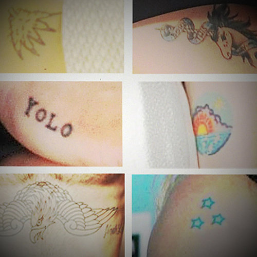 Guess the Celebrity Tattoos
