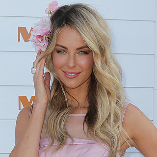 Celebrity Hair & Makeup: Jennifer Hawkins Beauty At Races